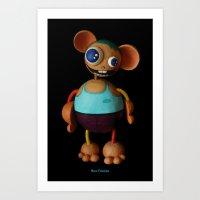 Nico Favolas Art Print