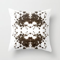 Symmetria Silver Throw Pillow