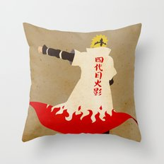 To be a ninja is to confront hatred Throw Pillow