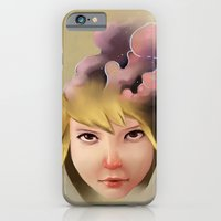 iPhone & iPod Case featuring Girl mind by Chawakarn Khongprasert