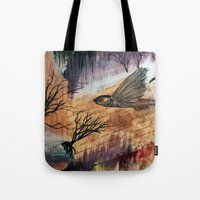 Literary Flying Fish Tote Bag