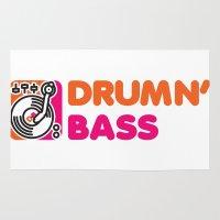 Drumn' Bass  Rug