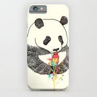Panda Loves Ice Cream iPhone 6 Slim Case