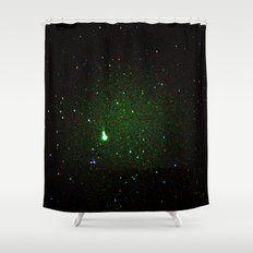 space noise. Shower Curtain