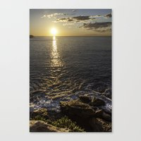 Coogee Cliff Sunrise Canvas Print