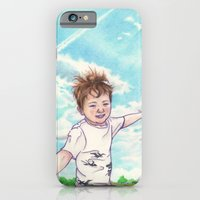 iPhone & iPod Case featuring Flight by Aiko Tagawa