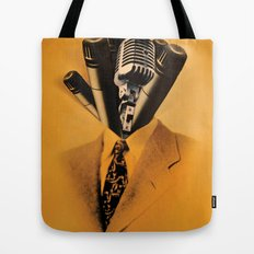 Mr. Microphone Tote Bag