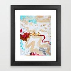 vicissitude Framed Art Print