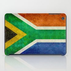 National flag of the Republic of South Africa iPad Case
