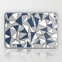Abstraction Lines With N… Laptop & iPad Skin