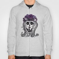 FLOWER CANDY SKULL Hoody