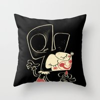 The Mouse Throw Pillow