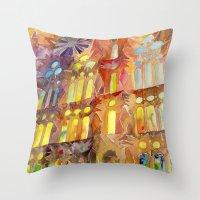 Sagrada Familia Throw Pillow