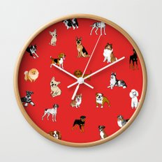Dog breeds! Wall Clock