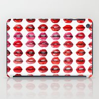 Lips Quote iPad Case