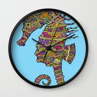 The Z Horse Wall Clock
