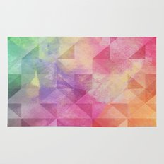 Triangles Pattern Rug