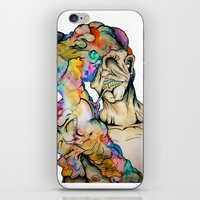 Overwhelmed iPhone & iPod Skin