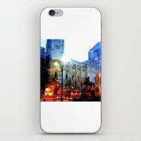 linear city iPhone & iPod Skin