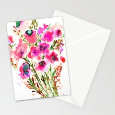 Bouquet Pink  Stationery Cards