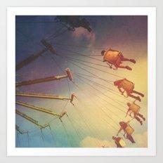 Swinging From The Sun Art Print