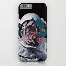 Spaceman oh spaceman, come rescue me (teal) Slim Case iPhone 6s