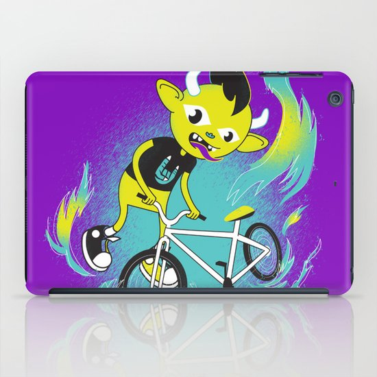 Monster Pixie Riding a Fixie iPad Case