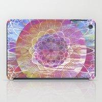 Glitch Mandala iPad Case