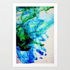 Cyan Art Print