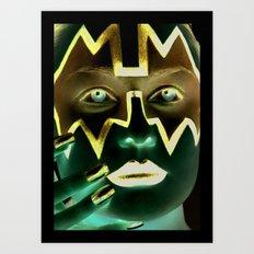 Kiss Ace Art Print