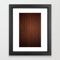 Wood #3 Framed Art Print