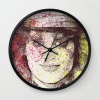 johnny depp (alice in wonderland) Wall Clock
