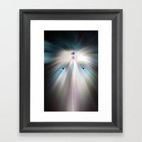 Future Human Framed Art Print