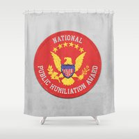 Gym Class Patch Shower Curtain