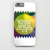 Sum And Parts iPhone 6 Slim Case