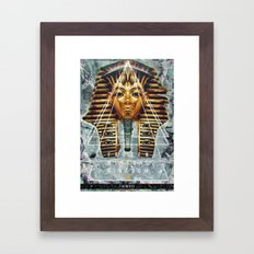 MYSTIC//PHARAOH Framed Art Print