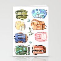 Backpacks Stationery Cards