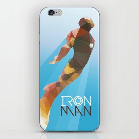 Iron iPhone & iPod Skin