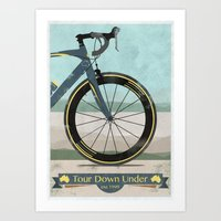 Tour Down Under Bike Rac… Art Print