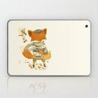 Fritz the Fruit-Foraging Fox Laptop & iPad Skin
