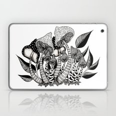 Mushroom Friendship Laptop & iPad Skin