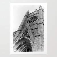 Kansas City Church Art Print