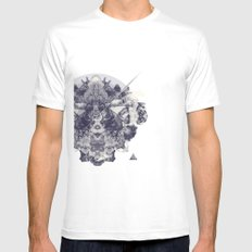 Neptunite Mens Fitted Tee SMALL White