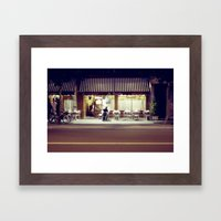 Paris By Night IV Framed Art Print