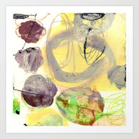 green experiments II Art Print