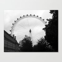 Eye.  Canvas Print
