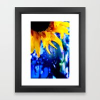 :: Liquid Sunshine :: Framed Art Print