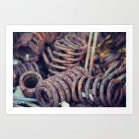 Rust 7 Art Print