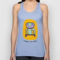 I want to pee! Unisex Tank Top