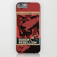 iPhone & iPod Case featuring Boxer Rebellion  by Galen Valle